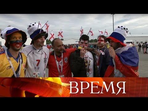 Болельщики сборной Англии скупают билеты до Москвы, чтобы посмотреть матч полуфинала.