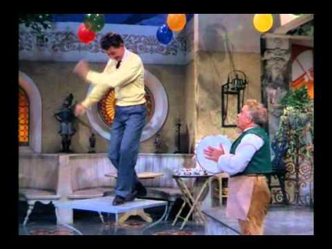 Donald O'Connor in a sensational unforgettable balloon dance