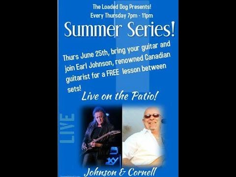"""08 of 35-""""Johnson & Cornell"""" performing """"Tequila Sunrise"""" live at The Loaded Dog, Toronto-25June2015"""