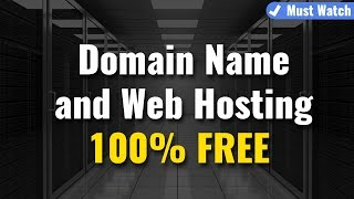 Get FREE Domain Names & Web Hosting with CPanel | 100% Working Video | Must Watch