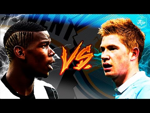 Paul Pogba vs Kevin De Bruyne |Amazing Skill Show| 2016 | HD | 1080p