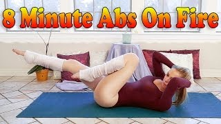 8 Minute Abs Ripper Workout - Best Ab Exercises For Women & Men - Donnie