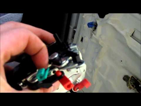 Replace Lock Actuator   2002 Dodge Ram 1500
