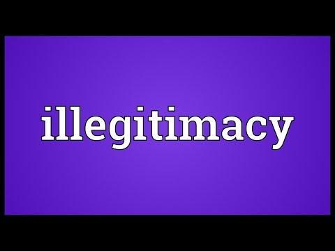 Header of illegitimacy