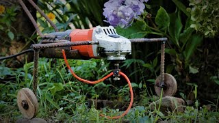 Angle Grinder Hacks, Simple Grass Trimmer. How to | DIY |