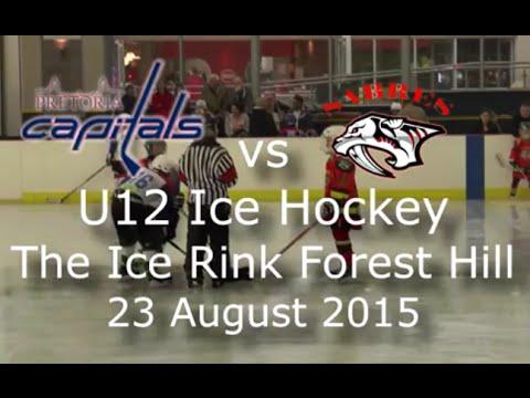 Pretoria Capitals vs Sabres u12 Ice Hockey
