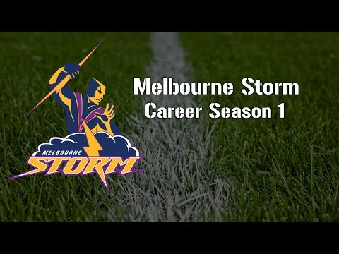 Rugby League Live 3 - Rugby League Live 3 - Storm Career 9's (Round 1)