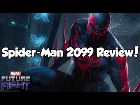 Spider-Man 2099 Review! - Marvel Future Fight