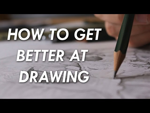 Play this video How to get BETTER at DRAWING! - 6 things you NEED to know.