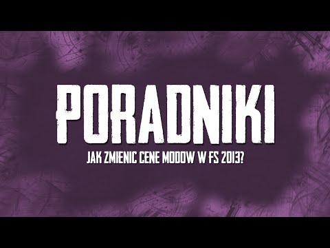 Poradnik - Jak zmieni ć cene modów w Farming Simulator 2013.