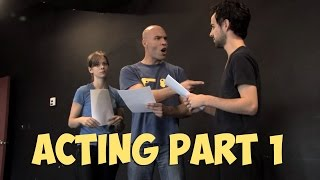 TV Production Blog - Acting Part 1