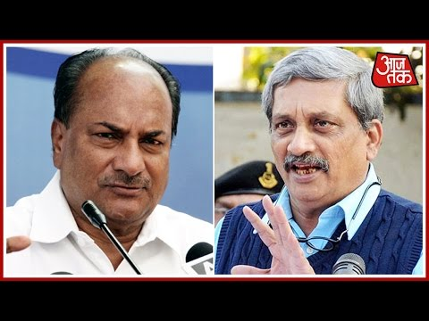 Parrikar looks To Put AgustaWestland Heat On Former Defence Minister AK Antony