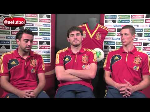 Xavi Hernández recuerda sus mejores momentos con la Selección