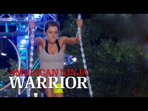 Kacy Catanzaro at the 2014 Dallas Qualifiers   American Ninja Warrior
