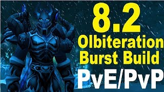 8.2 PTR Frost DK DPS - Monster Obliteration Spec - PvE and PvP