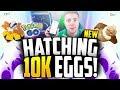 Pokemon Go - HATCHING 9 10K EGGS! (I'm BAAAAAAACK!)