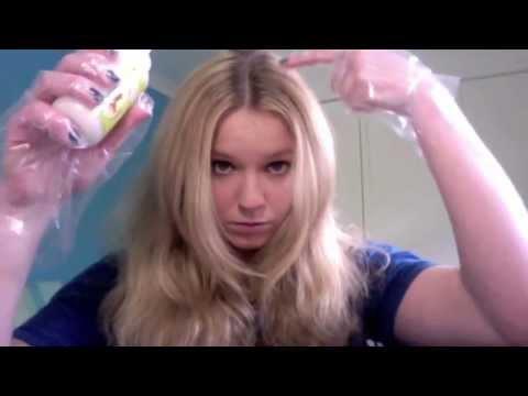 Blonde To Golden Brown Using Garnier Nutrisse Youtube