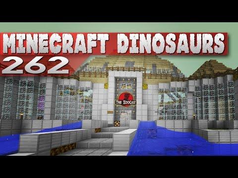 Minecraft Dinosaurs 262 ZooCast Adventure