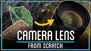 Turning Sand and Rocks Into a CAMERA LENS