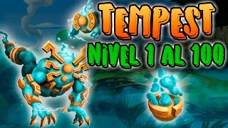 Monster Legends - Tempest (Nivel 1 al 100) + Combate