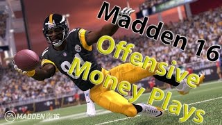 Madden 16: UNSTOPPABLE OFFENSIVE MONEY PLAY! PISTOL TRIPS! FULL OFFENSIVE SCHEME!