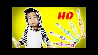 BOSS Kids Funny BaBy Go Home And Egg Surprise - Learning Color With  Toothbrush For Kids & Children