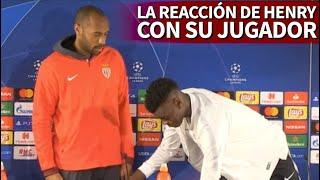 La viral reacción de Henry ante la falta de modales de su jugador | Diario AS