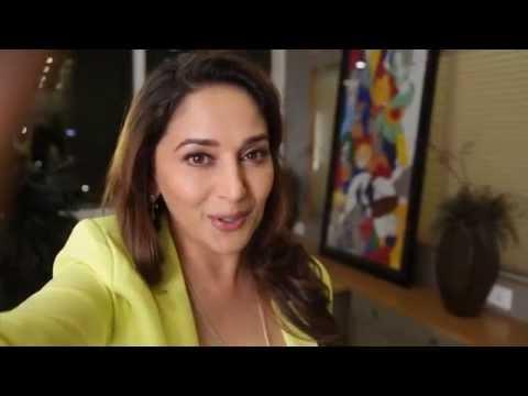 Slam+ The Tour - Madhuri Dixit Selfie Promo