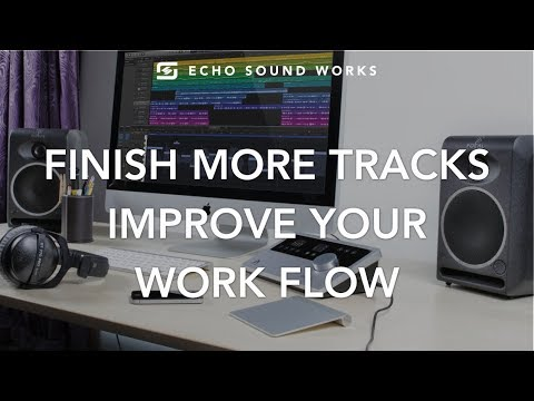 Music Production Pro Tip - Improving Your Workflow