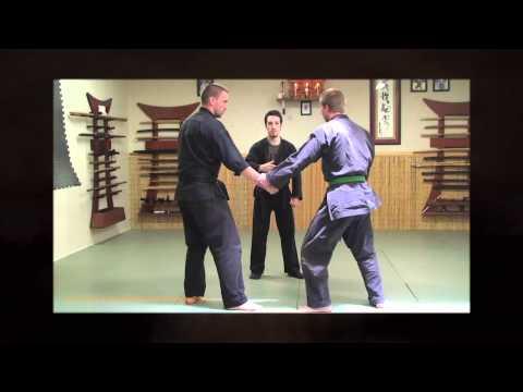 Ninjutsu Lesson Online - Touch Dont Grab - Ninja Training Video Blog