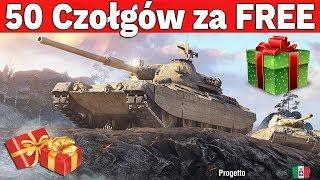 50 DARMOWYCH CZOŁGÓW PREMIUM - Losowanie w World of Tanks