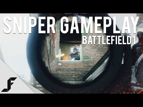 BATTLEFIELD 1 SNIPER GAMEPLAY