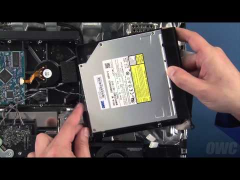 20-inch iMac (Early 2009) Optical Drive Installation Video