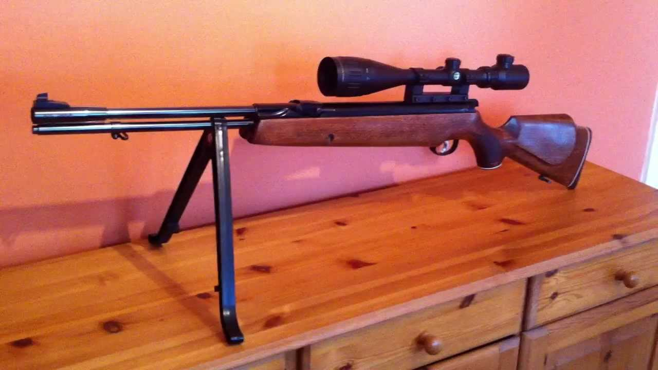 how to make a spring powered air rifle more powerful
