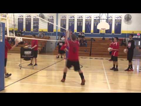 Woodbridge High School Volleyball Hitting Lines