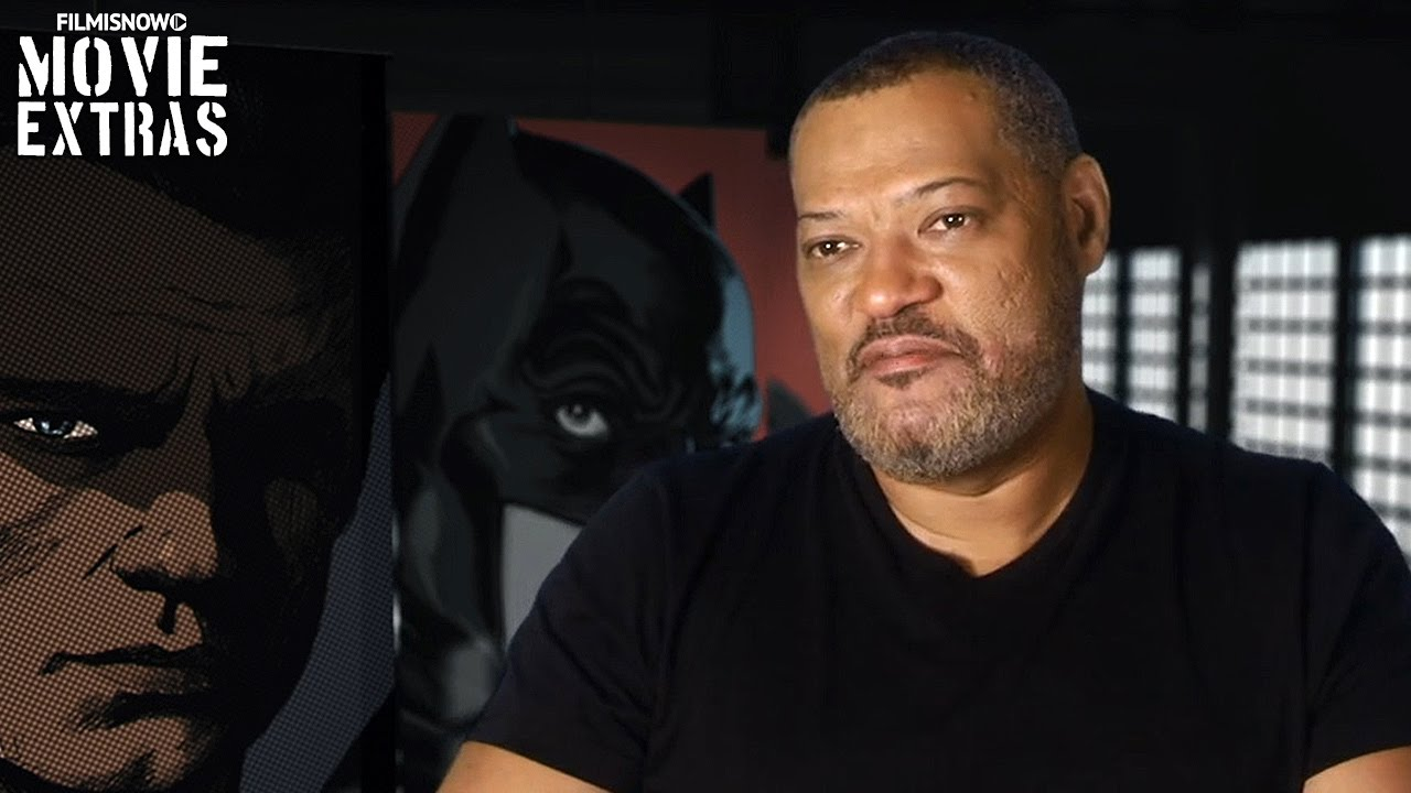 Batman v Superman: Dawn of Justice | Laurence Fishburne is 'Perry White' [On-Set Interview]
