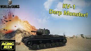 KV-1 + 122mm Derp = Pools Medal & Kolobanovs! - World of Tanks