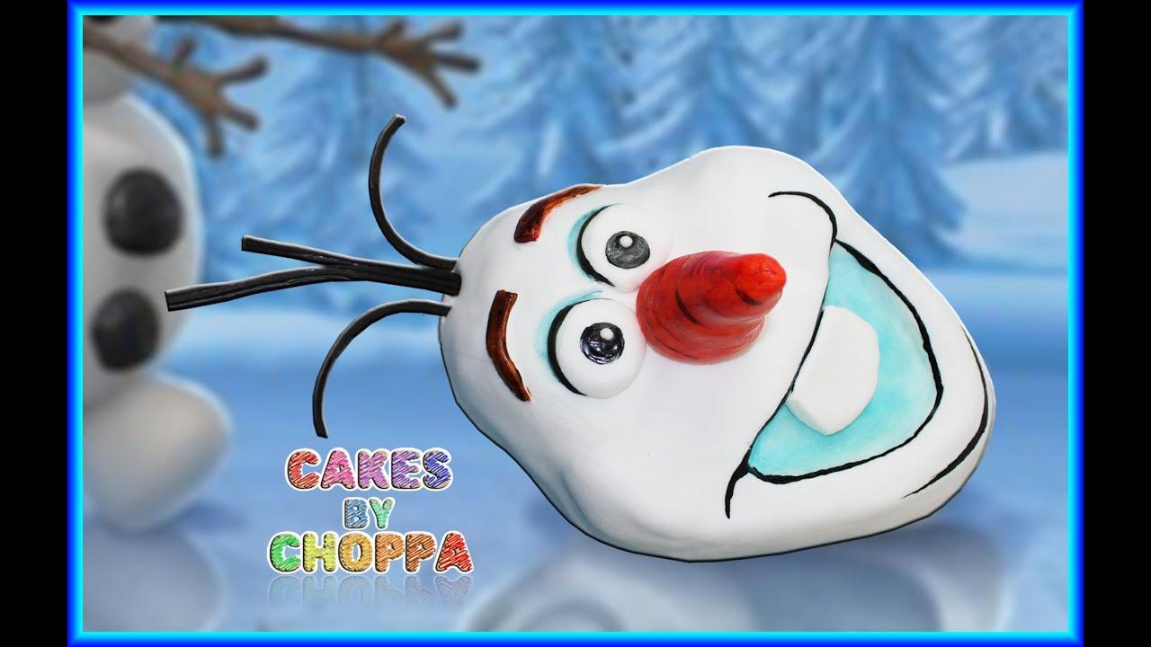 Olaf disney s frozen cake how to youtube