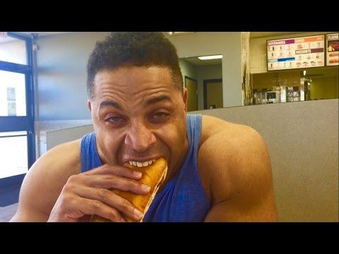Burger Kings Extra Long Philly Cheeseburger