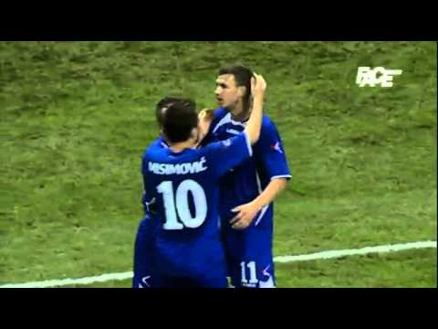 Edin Dzeko GOAL // Bosnia Herzegovina 2 - 1 Ivory Coast