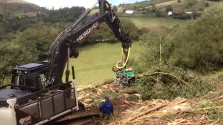 Hidromek Excavators Forestry Application Part II