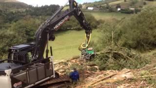 Hidromek Excavators Forestry Application Part II