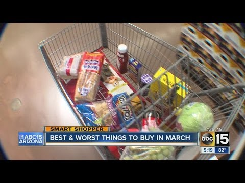 Best and worst things to buy in March