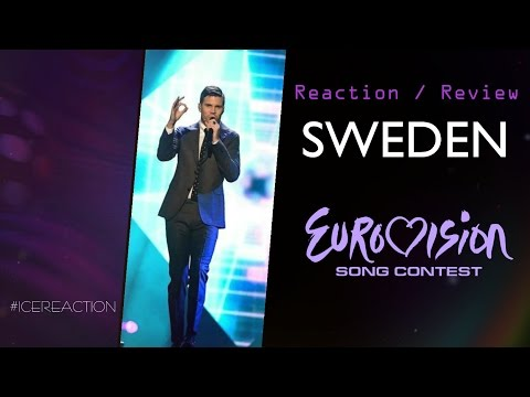 EUROVISION 2017 Reaction/ Review from RUSSIA: Sweden. #icereaction