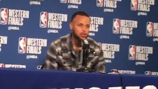"""Stephen Curry on saying """"This is my house!"""" during 3rd Qtr run"""
