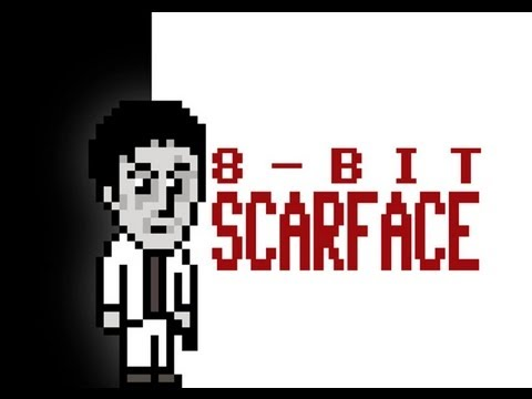 8-bit Scarface (uncensored)
