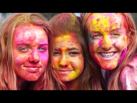 Holi Festival of Colours Auckland 2016