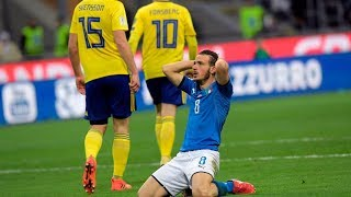 Dissecting Italy's embarrassing exit from World Cup qualifying