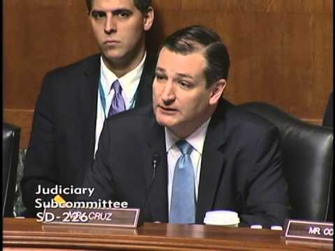 Sen. Ted Cruz Gives Opening Remarks at Judiciary Subcommittee Hearing