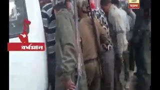 Accident at Durgapur, Police held the lady driver